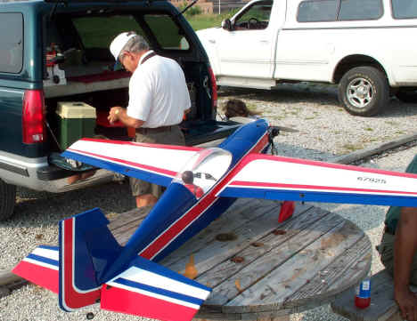 Steve Ragsdale and his Goldberg Extra 300